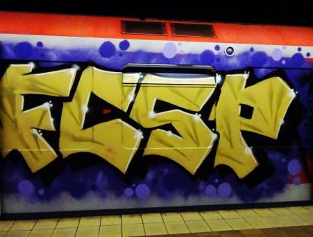S-Bahn-Graffiti